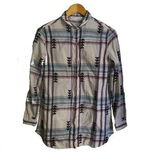 WOOLRICH South Western Multicolored Button Shirt